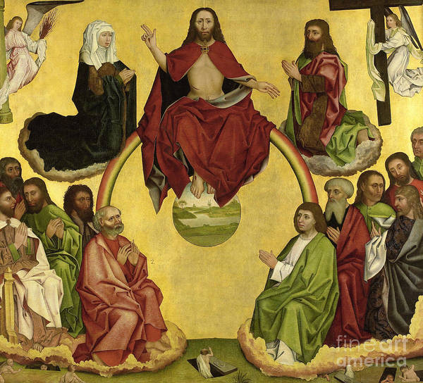 Wall Art - Painting - Last Judgment by German School