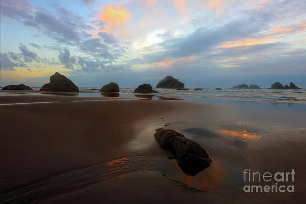 Wall Art - Photograph - Last Light At Face Rock by Mike Dawson
