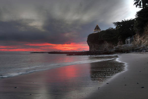 Photograph - Last Light At Fishermans Cove by Cliff Wassmann