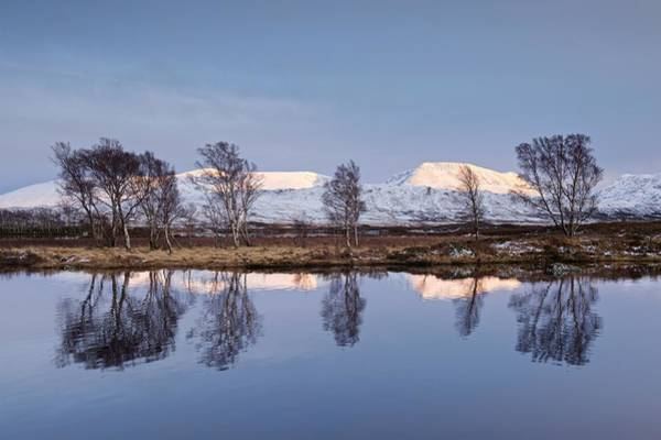 Photograph - Last Light At Loch Ba by Stephen Taylor