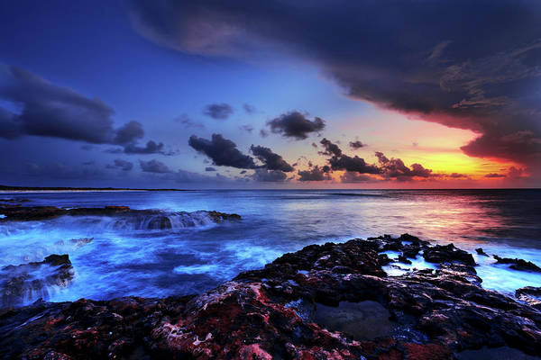 Reef Photograph - Last Light by Chad Dutson