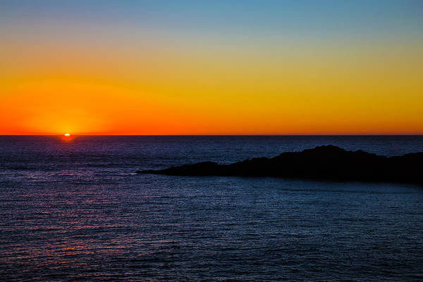 Costal Photograph - Last Light by Garry Gay