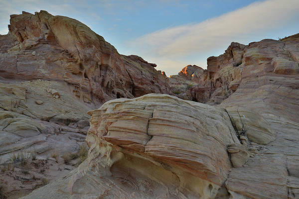 Photograph - Last Light In Valley Of Fire State Park by Ray Mathis