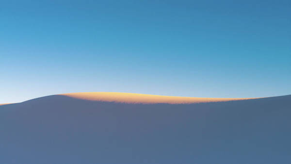 White Sand Photograph - Last Light by Joseph Smith