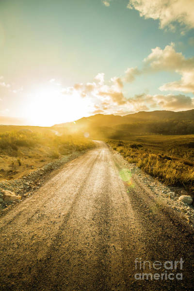 Trial Wall Art - Photograph - Last Light Lane by Jorgo Photography - Wall Art Gallery