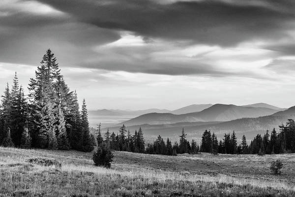 Photograph - Last Light Of Day In Bw by Frank Wilson