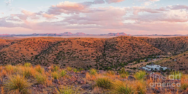 Wall Art - Photograph - Last Light On The Landscape - Davis Mountains State Park And Faraway Chihuahua Desert - Fort Davis by Silvio Ligutti