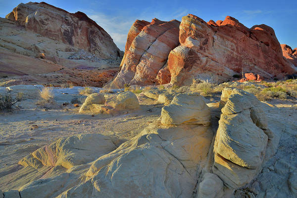 Photograph - Last Light On Valley Of Fire Domes by Ray Mathis