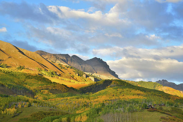 Photograph - Last Light Over Telluride by Ray Mathis