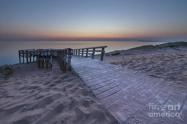 Sleeping Bear Dunes Wall Art - Photograph - Last Light Over The Dunes by Twenty Two North Photography