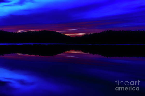 Photograph - Last Light Sunset Afterglow by Thomas R Fletcher