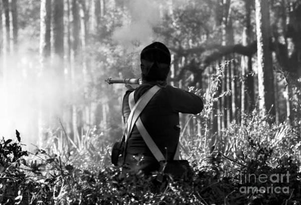 Gunfire Photograph - Last Man Standing by David Lee Thompson