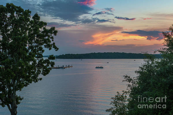 Photograph - Last Moment On The Lake by Dale Powell