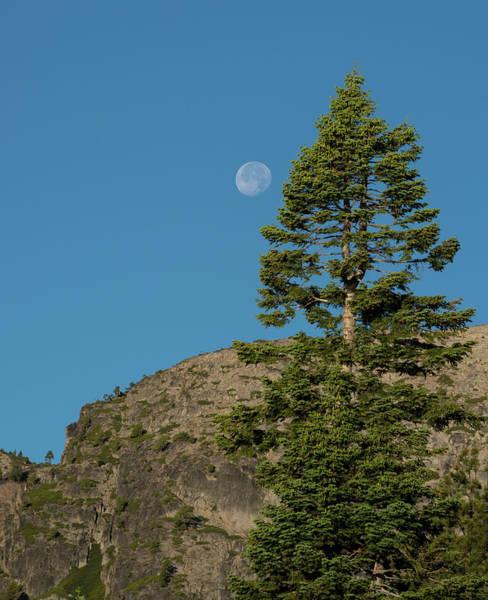 Photograph - Last Moments Of A Full Moon by Jonathan Hansen