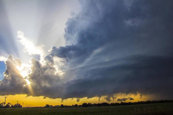 Photograph - Last Nebraska Supercell Of The Summer 021 by NebraskaSC