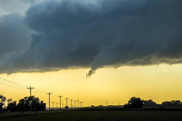 Photograph - Last Nebraska Supercell Of The Summer 036 by NebraskaSC