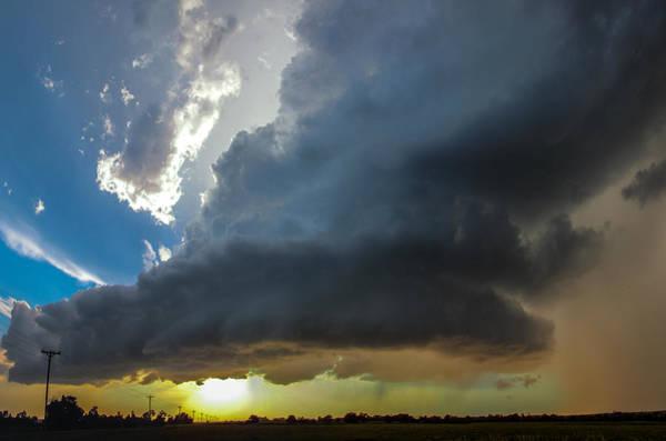 Photograph - Last Nebraska Supercell Of The Summer 047 by NebraskaSC