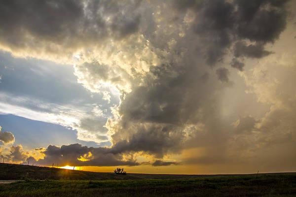 Photograph - Last Nebraska Supercell Of The Summer 058 by NebraskaSC
