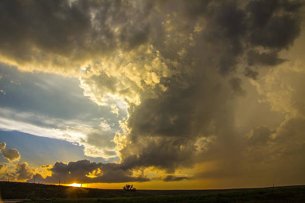Photograph - Last Nebraska Supercell Of The Summer 059 by NebraskaSC