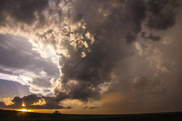 Photograph - Last Nebraska Supercell Of The Summer 060 by NebraskaSC
