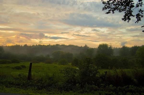 Henniker Photograph - Last Night Of August, Henniker, Nh by David Foster