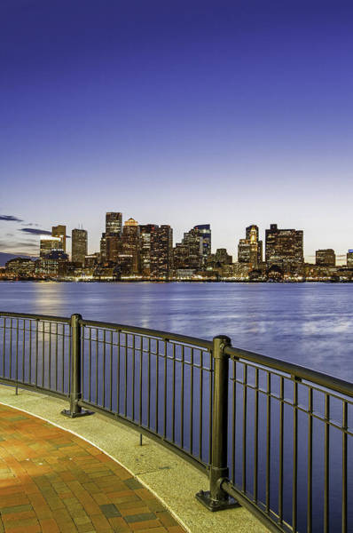 Wall Art - Photograph - Last Night Sunset In Boston by Juergen Roth