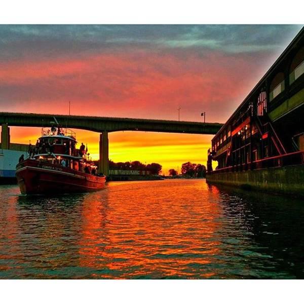 Wall Art - Photograph - Last Nights Sunset........... Buffalo by Kevin  Rybczynski