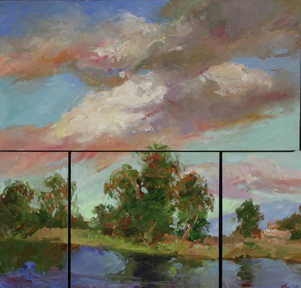 Painting - Last Of Sand Creek  - Plein Air by Betty Jean Billups