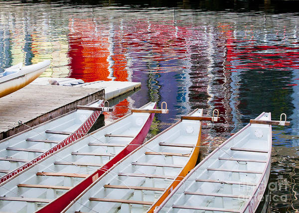 Dragon Boats Wall Art - Photograph - Last Of The Dragon Boats by Chris Dutton