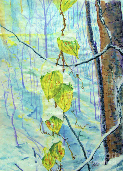 Painting - Last Of The Leaves by Nicole Angell