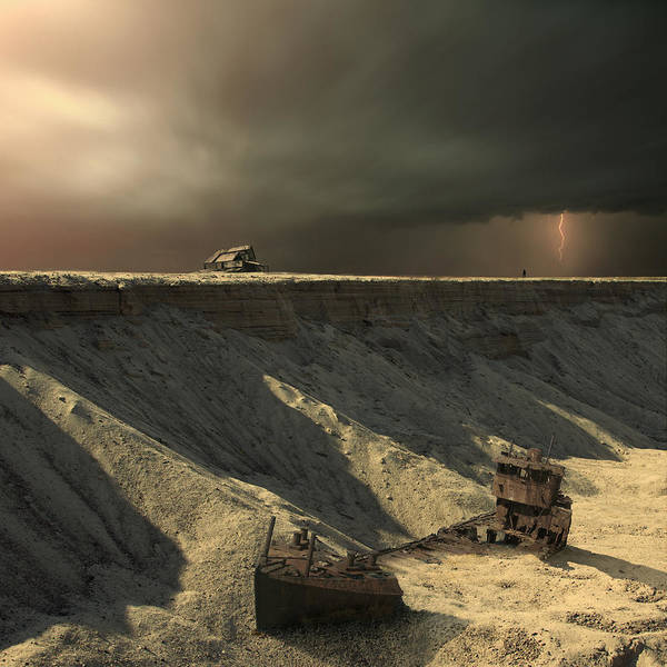 Wall Art - Photograph - Last Outpost by Michal Karcz