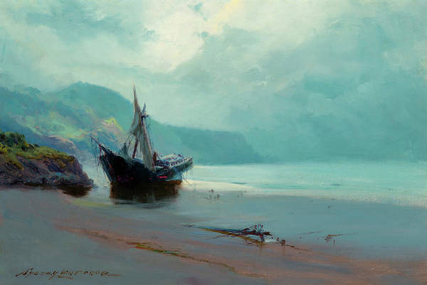 Wall Art - Painting - Last Port Of Call by Sydney Mortimer Laurence