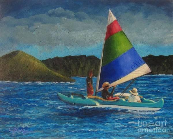 Last Sail Before The Storm Art Print