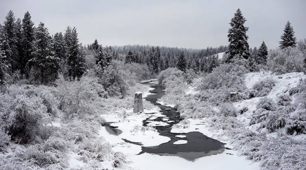 Wall Art - Photograph - Latah Creek Valley In Winter 2 by Daniel Hagerman