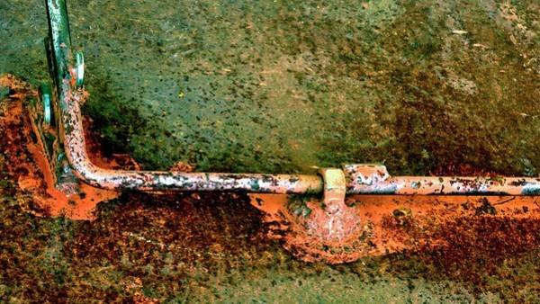 Photograph - Latch 5 by Jerry Sodorff