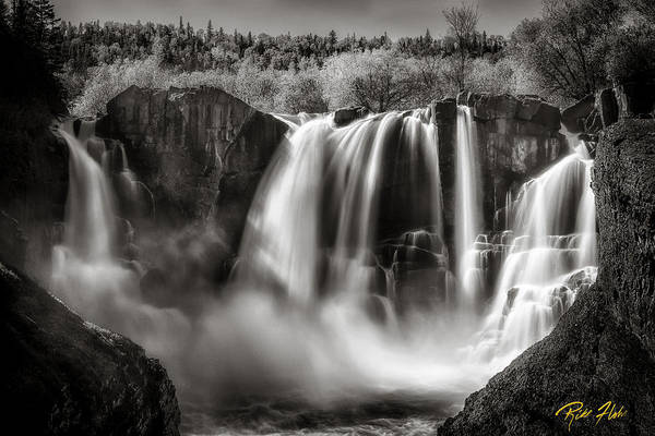 Photograph - Late Afternoon At The High Falls by Rikk Flohr