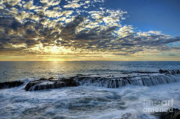 Photograph - Late Afternoon In Laguna Beach by Eddie Yerkish