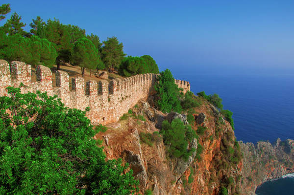 Photograph - Late Afternoon On The Castle Of Alanya by Sun Travels