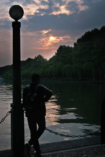 Photograph - Late Afternoon On West Lake by George Taylor