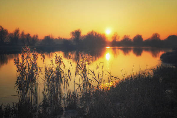 Photograph - Late Afternoon Over The Ouse by James Billings