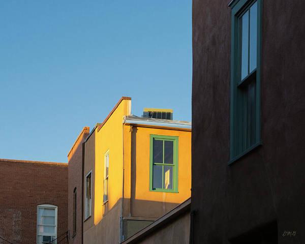 Photograph - Late Afternoon Santa Fe I Color by David Gordon