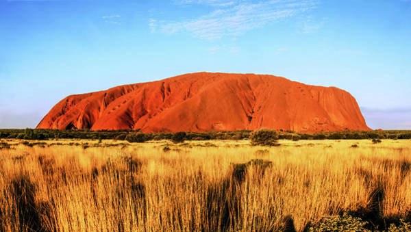 Photograph - Late Afternoon - Uluru, Central Australia by Lexa Harpell