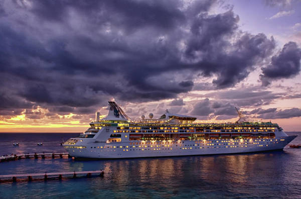 Photograph - Late Arrival In Cozumel by Tatiana Travelways