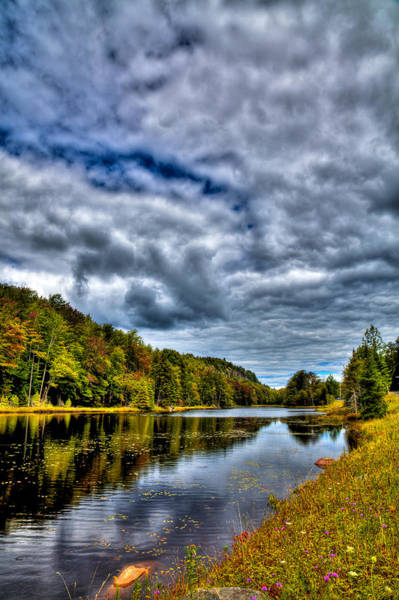 Photograph - Late August Day On Bald Mountain Pond by David Patterson