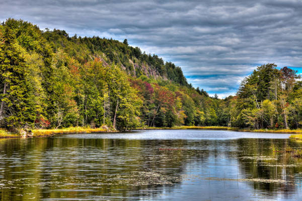Photograph - Late August On Bald Mountain Pond by David Patterson