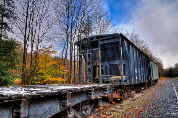 Photograph - Late Autumn Along The Tracks by David Patterson