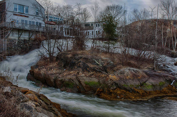 Photograph - Late Autumn In Camden Maine by Jeff Folger