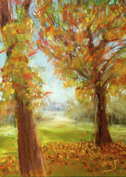 Painting - Late Fall Colors - Autumn Landscape by Barry Jones