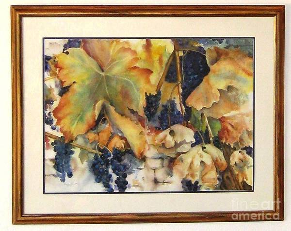 Wall Art - Painting - The Magic Of Autumn Framed by Maria Hunt