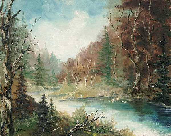 Painting - Late In The Season by Rebecca Kimbel